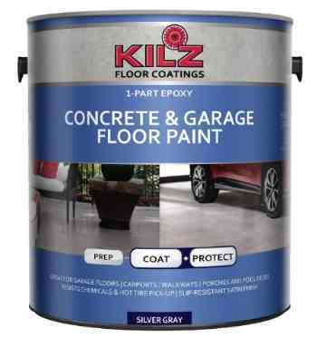 KILZ L377611 1-part Epoxy Acrylic floor paint