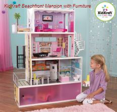 KidKraft Beachfront Mansion with Furniture