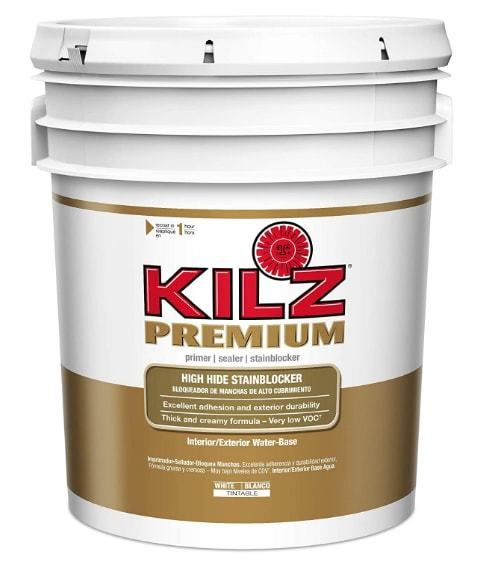 Kilz premium-High-Hide Stain-Blocking interior & Exterior-Latex ​primer