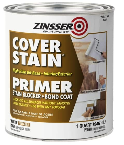 ​Zinsser 03504 Cover-Stain Exterior-Oil-Primer Sealer