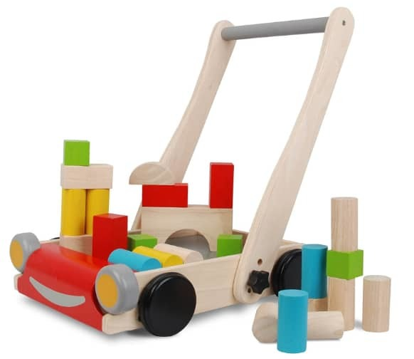 Plan Toys Store Wood Baby Walker