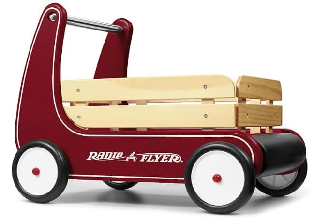 Radio Flyer Classic Sit to Stand Toddler Walker Wagon